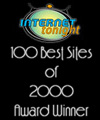 One of Internet Tonights Top 100 Sites of 2000